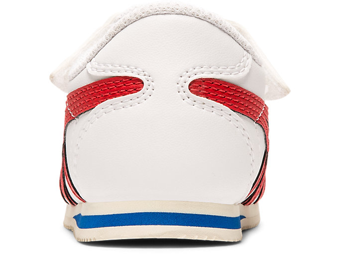 Back view of Tiger Corsair Pre-School, WHITE/CLASSIC RED