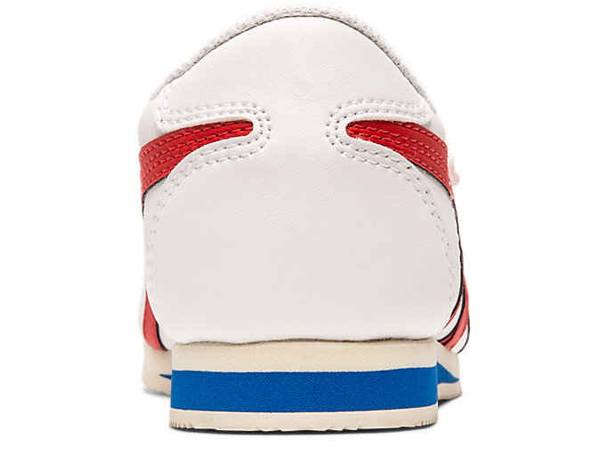 Back view of Tiger Corsair Toddler, WHITE/CLASSIC RED