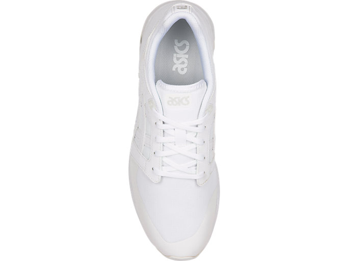 Top view of GELSAGA SOU, WHITE/WHITE