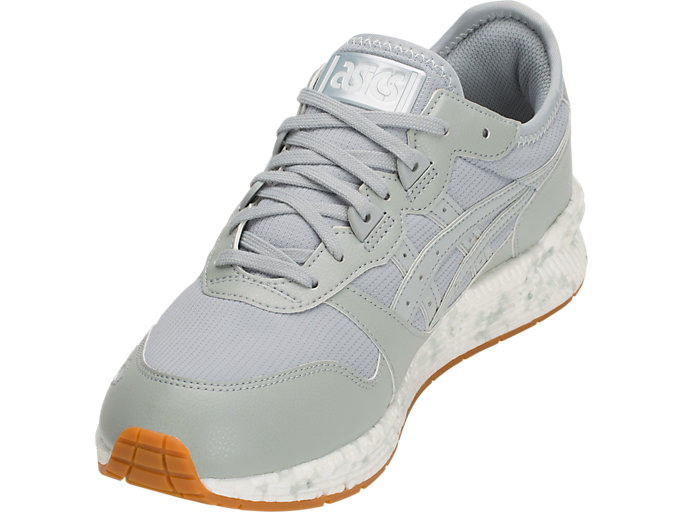 Front Left view of HyperGEL-LYTE, MID GREY/MID GREY