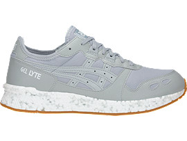 Right side view of HyperGEL-LYTE, MID GREY/MID GREY