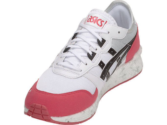 Front Left view of HyperGEL-LYTE, WHITE/ROUGE