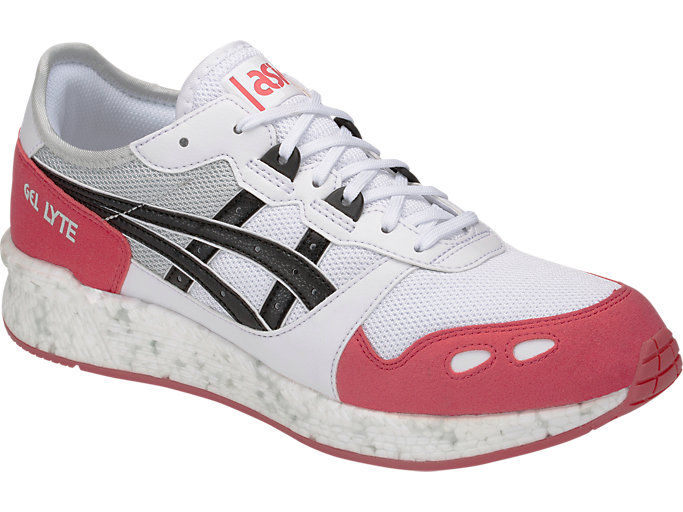 Front Right view of HyperGEL-LYTE, WHITE/ROUGE