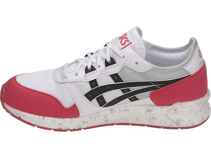 Left side view of HyperGEL-LYTE, WHITE/ROUGE