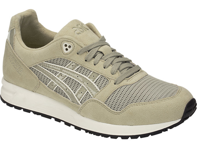 Front Right view of GEL-SAGA, KHAKI/KHAKI