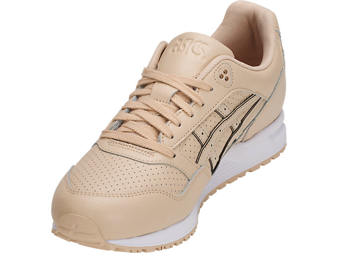 Front Left view of GEL-SAGA, BEIGE/BEIGE