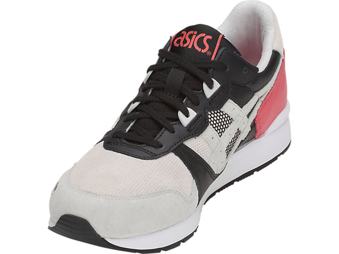 Front Left view of GEL-LYTE, ROUGE/GLACIER GREY