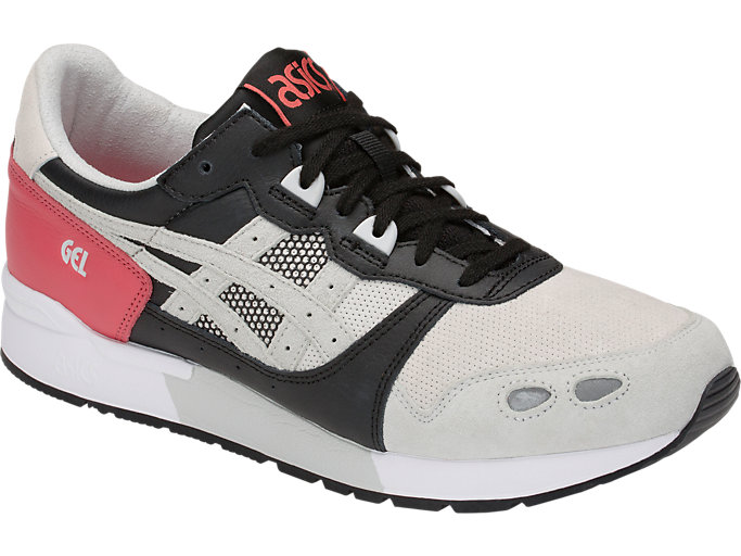 Front Right view of GEL-LYTE, ROUGE/GLACIER GREY