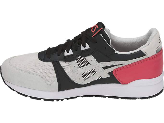 Left side view of GEL-LYTE, ROUGE/GLACIER GREY
