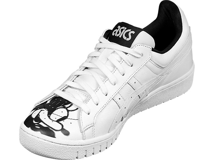 Front Left view of GEL-PTG Disney, WHITE/BLACK