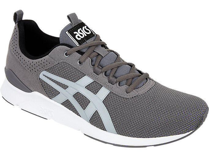 Front Right view of GEL-LYTE RUNNER, CARBON/MID GREY