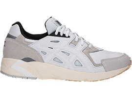 Right side view of GEL-DS TRAINER OG, WHITE/WHITE