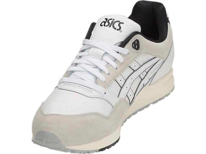 Front Left view of GEL-SAGA, WHITE/WHITE