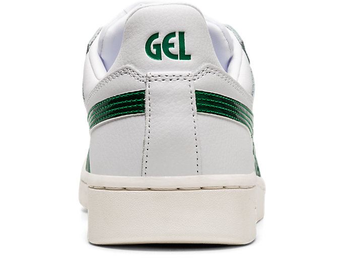 Back view of GEL-PTG, WHITE/KALE
