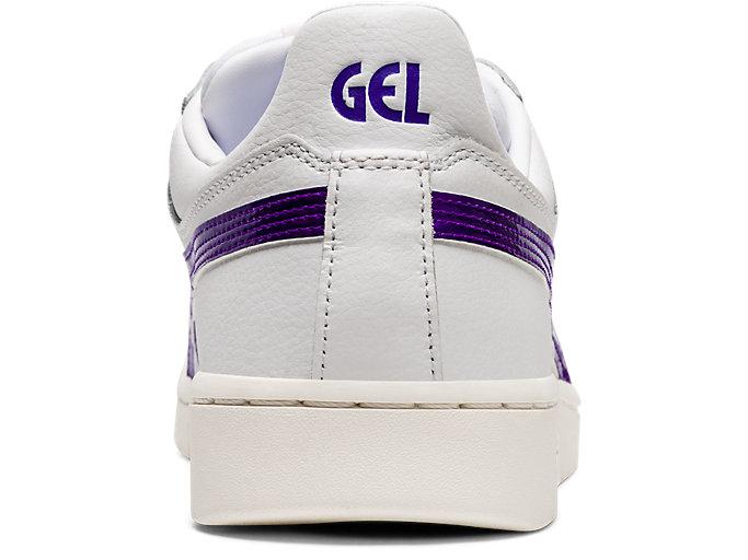 Back view of GEL-PTG, WHITE/ROYAL AZEL