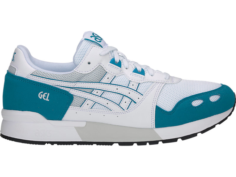 GEL-Lyte White/Teal Blue 1 RT