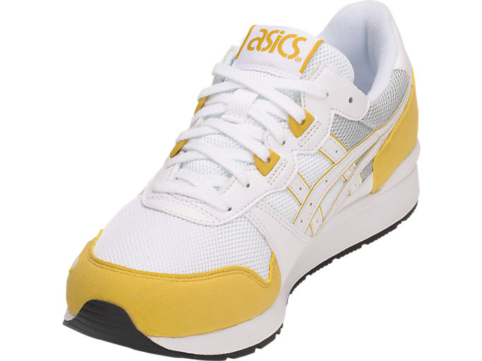 Front Left view of GEL-LYTE, WHITE/MUSTARD