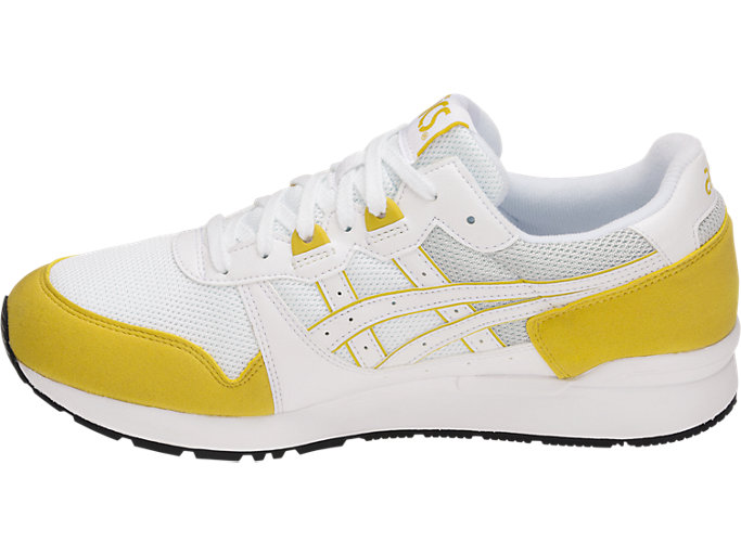 Left side view of GEL-LYTE, WHITE/MUSTARD