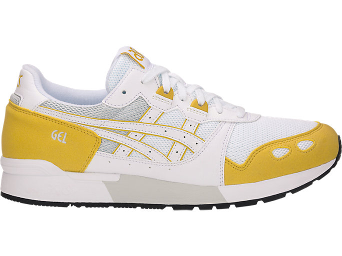 Right side view of GEL-LYTE, WHITE/MUSTARD