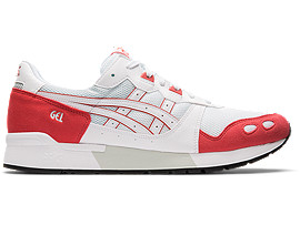 Right side view of GEL-LYTE, WHITE/ROUGE