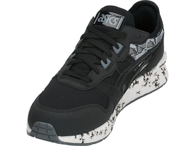 Front Left view of HyperGEL-LYTE, BLACK/BLACK