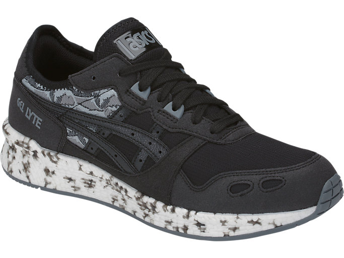 Front Right view of HyperGEL-LYTE, BLACK/BLACK
