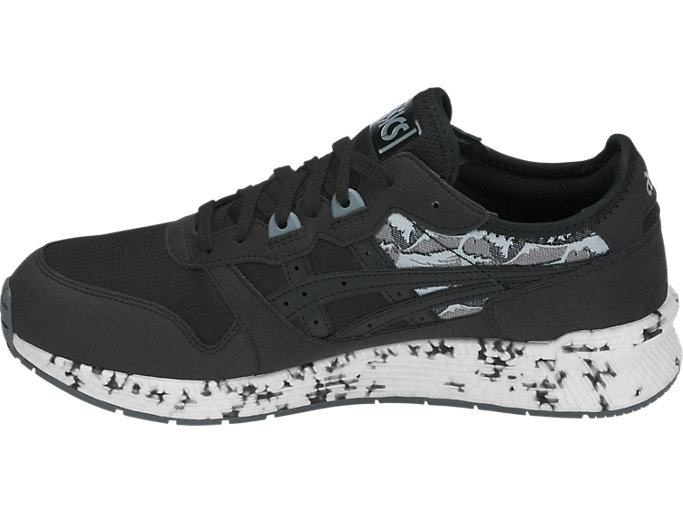 Left side view of HyperGEL-LYTE, BLACK/BLACK