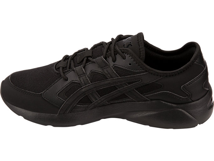 Left side view of GEL-KAYANO 5.1, BLACK/BLACK