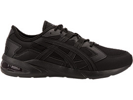 Right side view of GEL-KAYANO 5.1, BLACK/BLACK