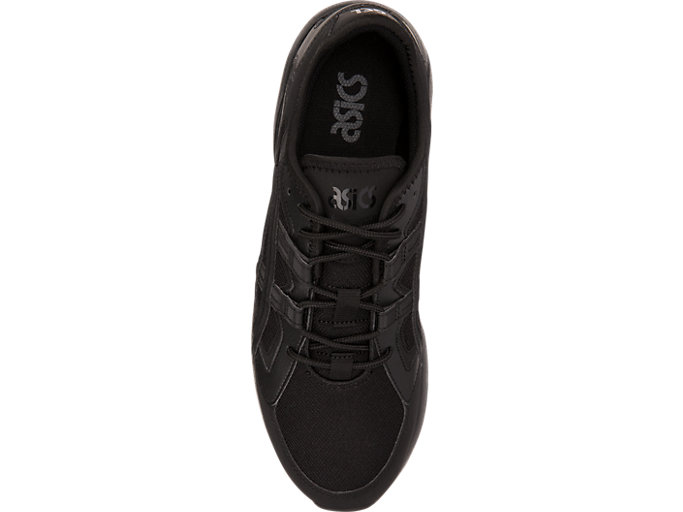 Top view of GEL-KAYANO 5.1, BLACK/BLACK