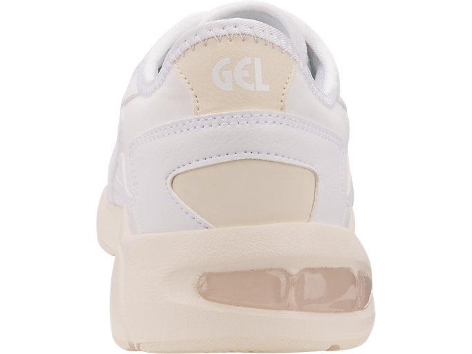 Back view of GEL-KAYANO 5.1, WHITE/WHITE