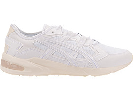 Right side view of GEL-KAYANO 5.1, WHITE/WHITE