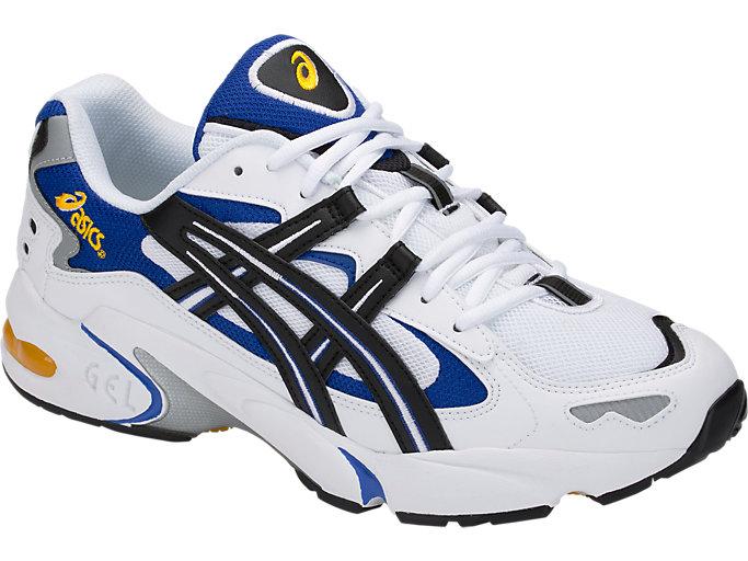 SPORT ASICS DUOMAX Men's Size 10 WhiteBlack Gel DS Racer