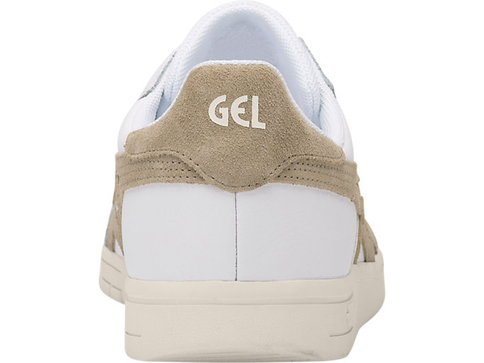 Back view of GEL-VICKKA TRS, WHITE/KHAKI