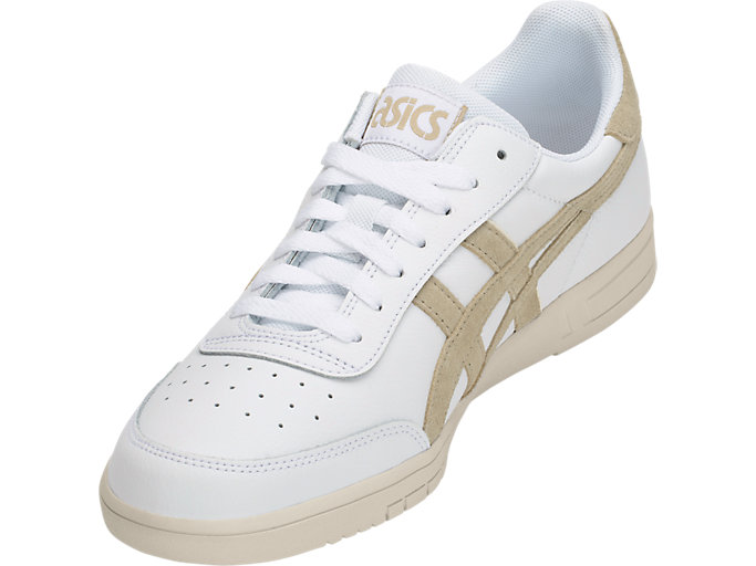 Front Left view of GEL-VICKKA TRS, WHITE/KHAKI