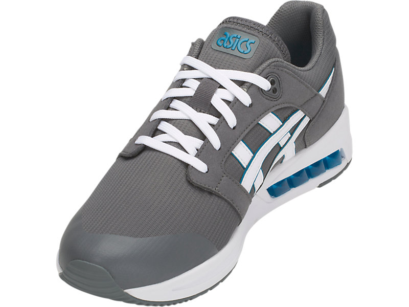 GEL-SAGA SOU STEEL GREY/WHITE 9 FL