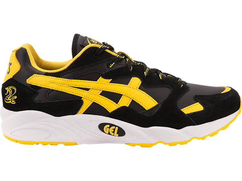 yellow asics tigers