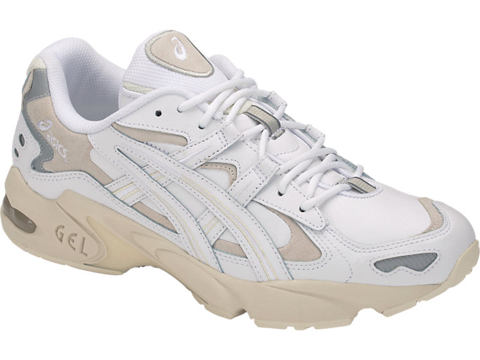 Front Right view of GEL-KAYANO™ 5 OG, WHITE/WHITE