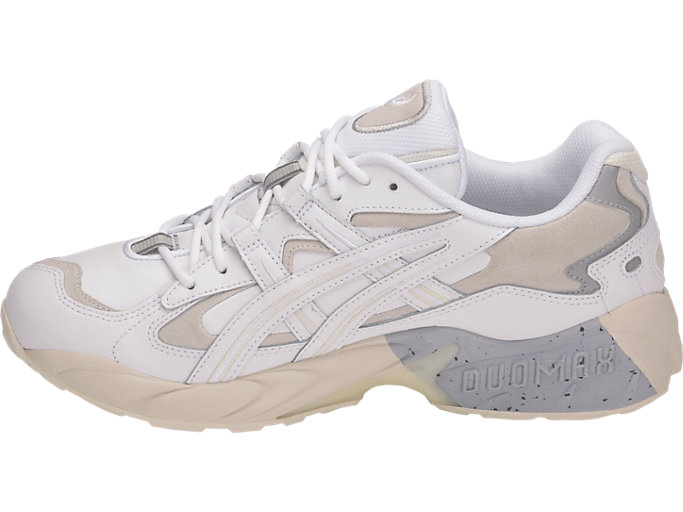 Left side view of GEL-KAYANO™ 5 OG, WHITE/WHITE