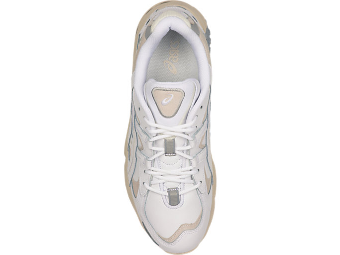 Top view of GEL-KAYANO™ 5 OG, WHITE/WHITE