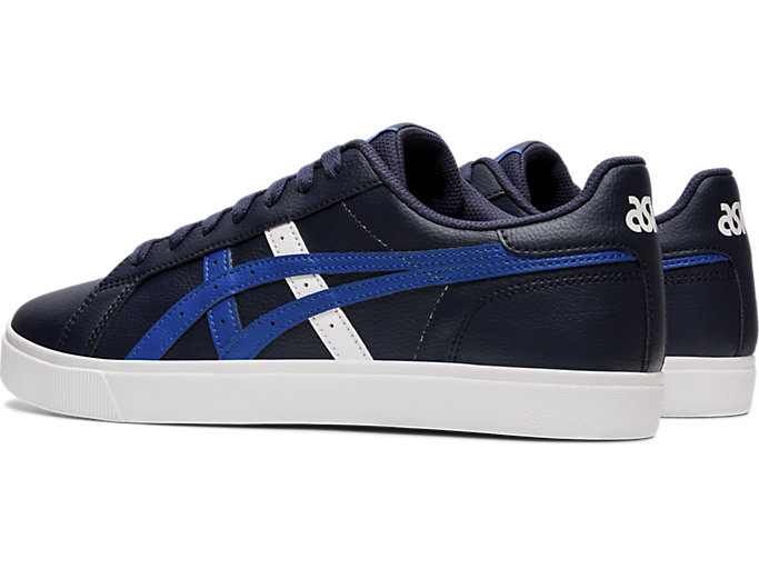 Front Left view of CLASSIC CT, MIDNIGHT/ASICS BLUE