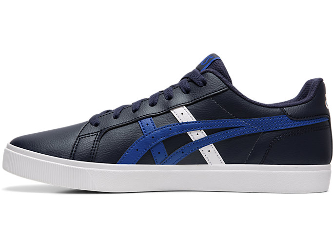 Left side view of CLASSIC CT, MIDNIGHT/ASICS BLUE