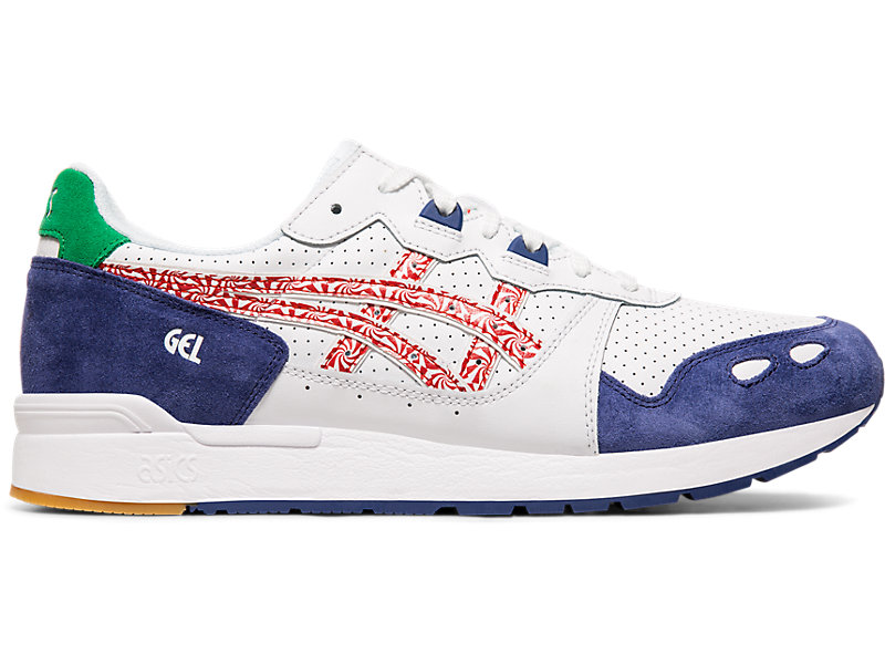 GEL-Lyte White/Classic Red 1 RT