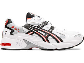 Right side view of GEL-KAYANO 5 OG, WHITE/BLACK