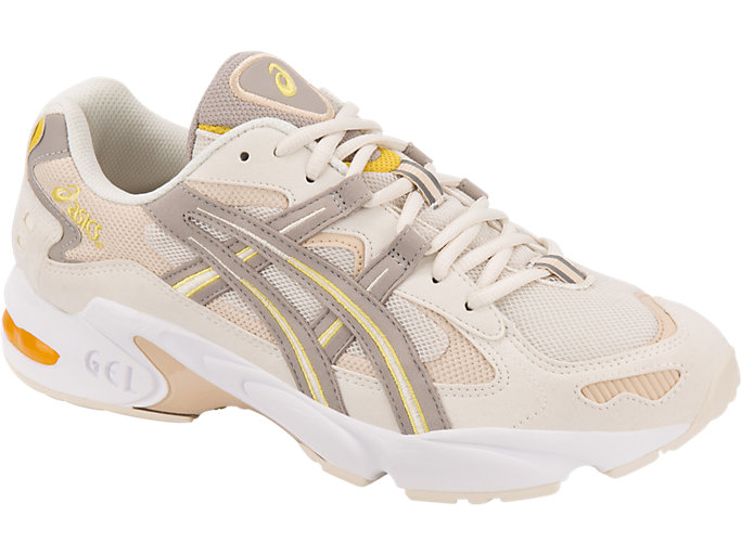 Front Right view of GEL-KAYANO 5 OG, BIRCH/MOONROCK