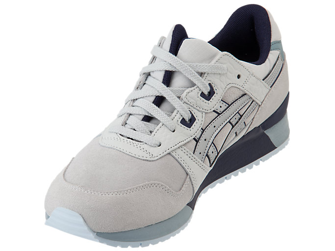 Front Left view of GEL-LYTE III, GLACIER GREY/SILVER