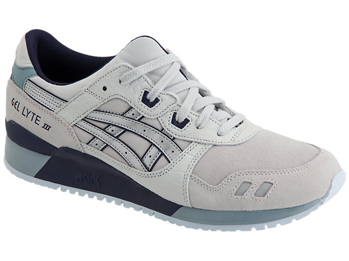 Front Right view of GEL-LYTE III, GLACIER GREY/SILVER