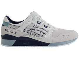Right side view of GEL-LYTE III, GLACIER GREY/SILVER