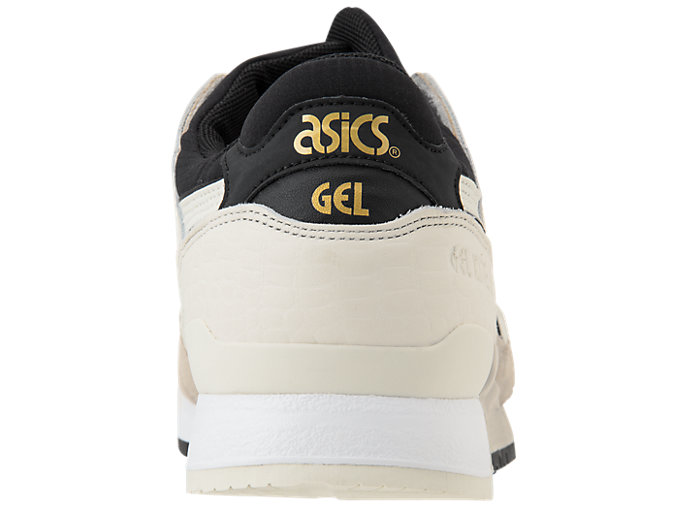 Back view of GEL-LYTE III, FEATHER GREY/BIRCH