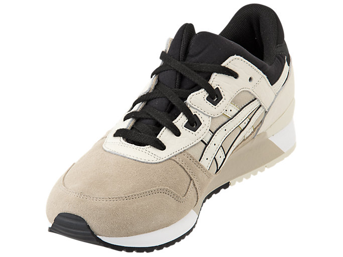Front Left view of GEL-LYTE III, FEATHER GREY/BIRCH